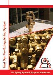 Inert Gas Fire Extinguishing System - Sariak