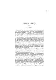 UIT DEN SLAVENTIJD - Books and Journals