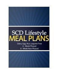 Chapter 1 - SCD Lifestyle