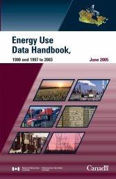 Energy Use Data Handbook