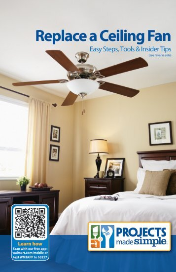 Replace a Ceiling Fan - Walmart