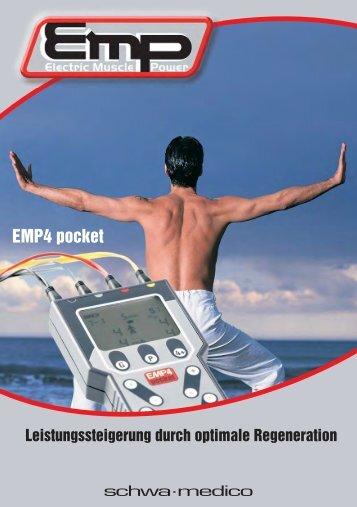 Muskelstimulationsgerät EMP 4-pocket - schwa-medico