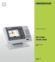 ND 2100G Manual de - heidenhain