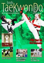 Totally Tae Kwon Do Magazine - Issue 26