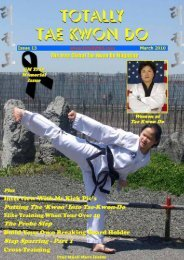 Totally Tae Kwon Do Magazine - Issue 13 - Usadojo