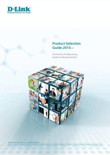 Product Selection Guide 2010 v1 - D-Link Australia