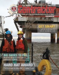 The Alaska Contractor: Winter 2009