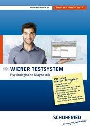 Wiener testsystem 2012 (PDF) - SCHUHFRIED Gmbh