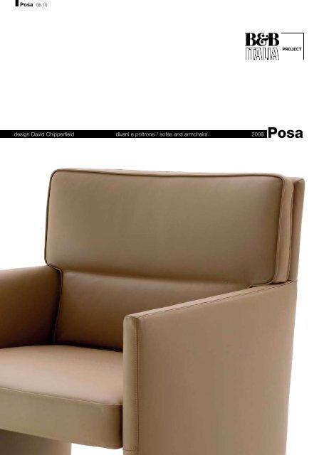 design David Chipperfield divani e poltrone / sofas and ... - Hive