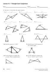 Lesson 4.1 • Triangle Sum Conjecture