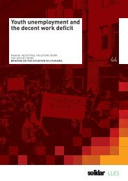 Youth unemployment and the decent work deficit - AIAS