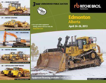 Edmonton - Ritchie Bros. Auctioneers