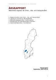 Årsrapport 2003 till SoS (808kb) dokumenttyp PDF - Nationellt ...