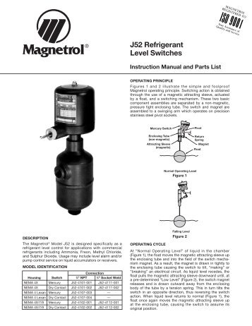 T10 float level switch sales literature 44 121 magnetrol 46 6273 j52 level switches io magnetrol international sciox Image collections