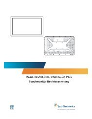2242L 22-Zoll-LCD- IntelliTouch Plus Touchmonitor Betriebsanleitung