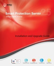 Trend Micro? Smart Protection Server 2.5 Installation and Upgrade ...