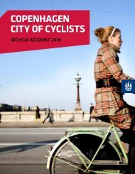 Bicycle account 2010 - Cycling Embassy of Denmark