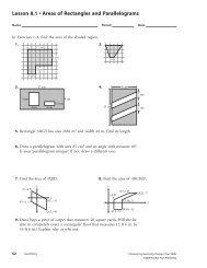 Parallelogram. Formulas and Properties of a Parallelogram