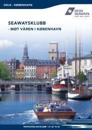 seawaysklubb - møt våren i københavn - DFDS.com