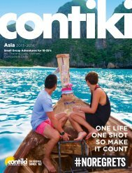 ONE LIFE ONE SHOT SO MAKE IT COUNT - Contiki