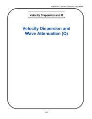 8. velocity dispersion