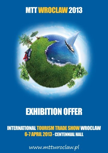 exhibition offer - International Tourism Trade Show - Wroclaw 2010