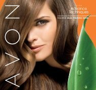 REGIMEN SALES TRAINING GUIDE - Avon the beauty of knowledge