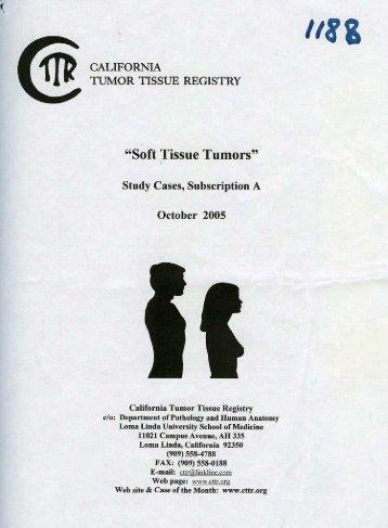 """""""Soft Tissue Tumors"""""""