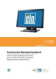 Touchmonitor Benutzerhandbuch - Elo TouchSystems