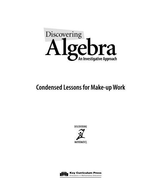 algebra chapter 0