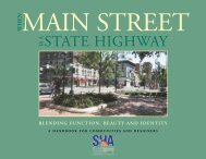 When Main Street is a State Highway - Maryland State Highway ...