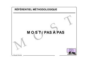 M O S T / PAS À PAS - Claude Rochet