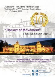 """The Art of Movement"" The Session 2013 - SGGG"