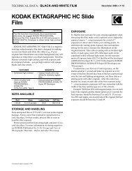 KODAK EKTAGRAPHIC HC Slide Film - 125px