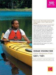 KODAK VISION2 50D Color Negative Film 5201 / 7201 - 125px