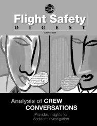 Flight Safety Digest October 2005 - Flight Safety Foundation
