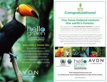 Congratulations! - Avon