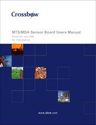 MTS/MDA Sensor Board Users Manual - Hamster and the World of ...