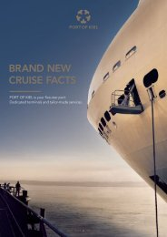 BRAND NEW CRUISE FACTS