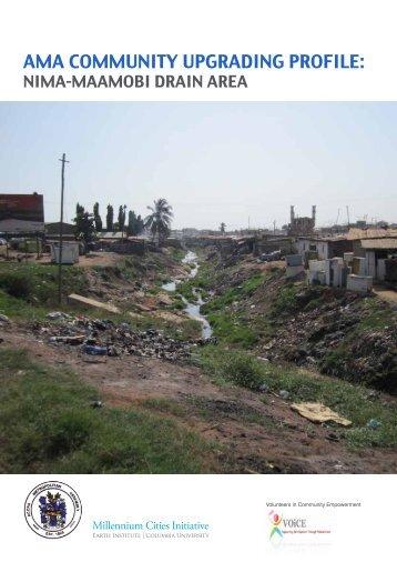AMA Community Upgrade Profile - Millennium Cities Initiative ...