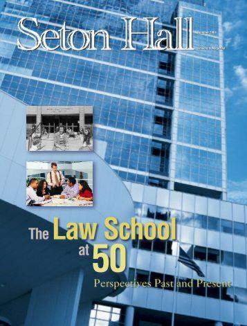 Seton Hall Magazine, Summer 2004 - Seton Hall University
