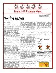 Penguin News October 27, 2011 - Camas School District