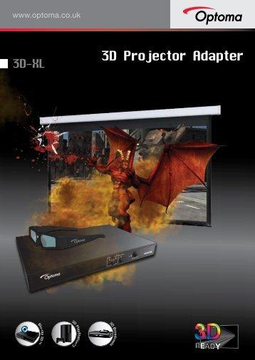 3D Projector Adapter