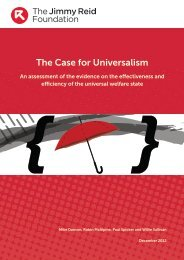The Case for Universalism - The Reid Foundation