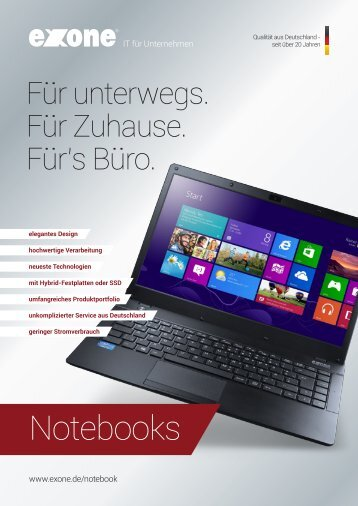 Notebooks - EXTRA Computer GmbH
