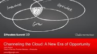 Cloud: Surviving in the Face of Industry Giants - Parallels