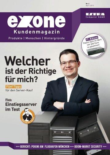 Kundenmagazin - EXTRA Computer GmbH