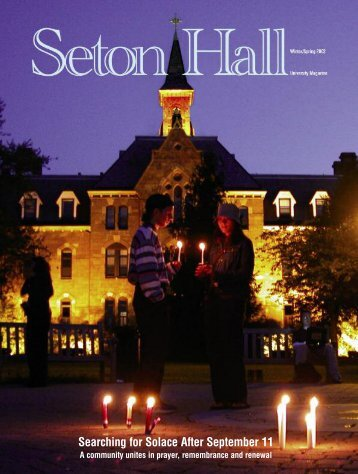 Seton Hall Magazine, Winter/Spring 2002 - Seton Hall University