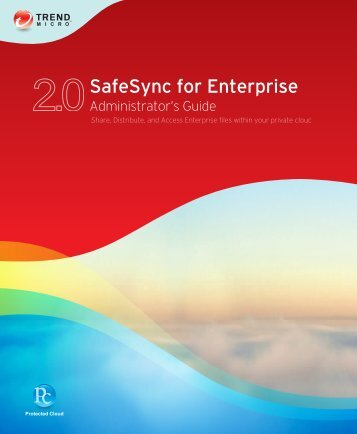 SafeSync for Enterprise 2.0 Administrator's Guide - Trend Micro ...