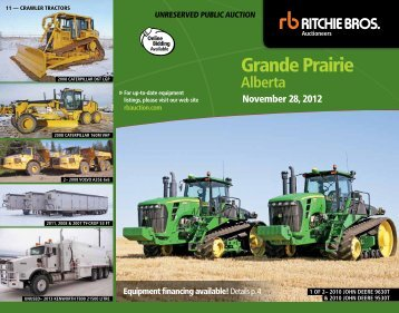 Grande Prairie - Ritchie Bros. Auctioneers
